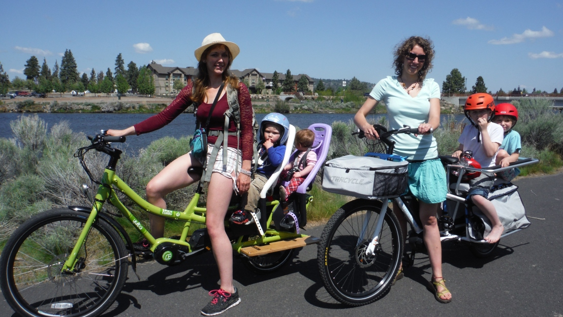 Bicycling in Bend